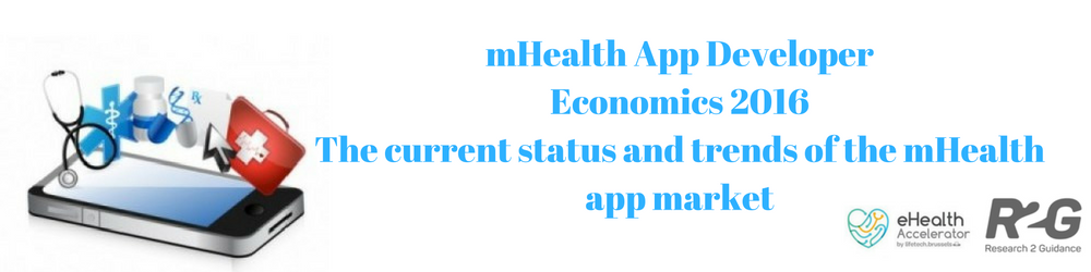 The mHealth App Market : Read the mHealth App Developer – Economics 2016